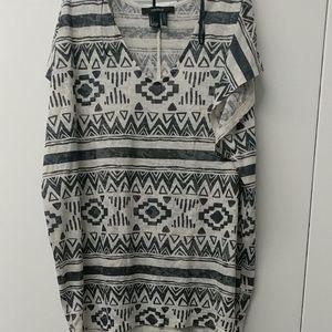 Forever 21 Aztec print shirt